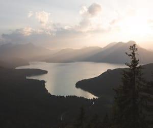 nature, sunshine, and canada image