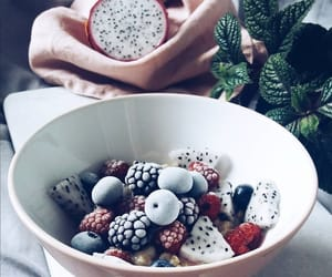 berries, breakfast, and eat image