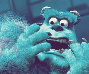 monster, blue, and disney image