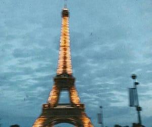 paris, light, and clouds image