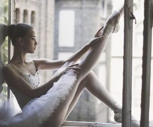 ballet, dance, and window image