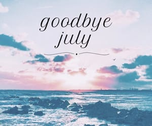 August, blue, and goodbye image