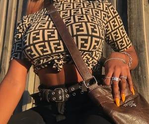 fashion, fendi, and girl image