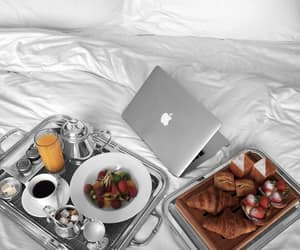 apple, blogger, and breakfast image