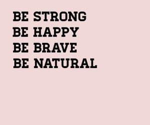 black, brave, and happy image