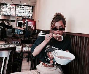 girl, sahar luna, and food image