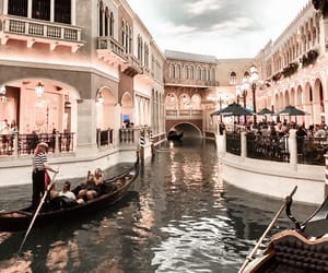 travel, venice, and boat image