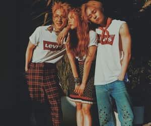hyuna, hui, and edawn image