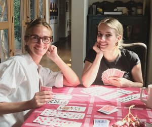 auntie, emma roberts, and smile image