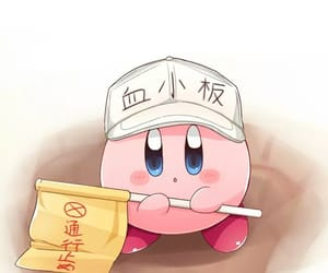 kawaii, kirby, and cute image