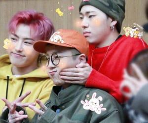 block b, zico kyung, and p.o taeil image