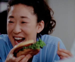 asian, cristina yang, and food image