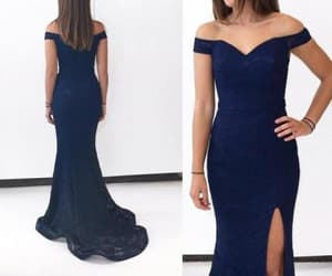 lace dress, prom dress, and formal occasion dress image