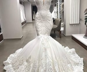 detailed, dress, and dresses image