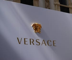 Versace, luxury, and gold image