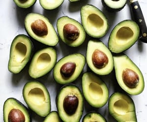 avocado, healthy, and vegan image