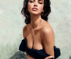 Adriana Lima, art, and body image