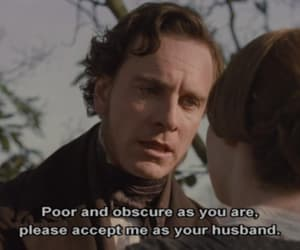 charlotte bronte, mister rochester, and jane eyre image
