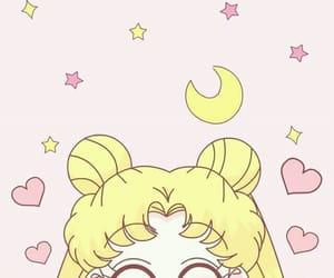 sailor moon, pink, and wallpaper image