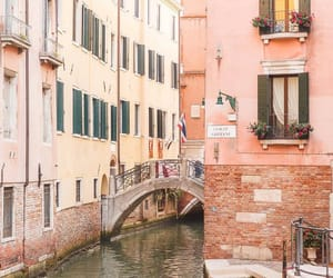 architecture, italien, and pink image