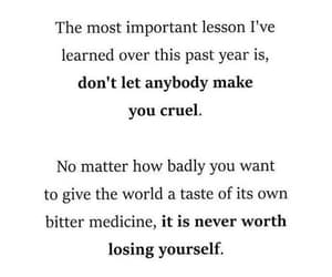 losing yourself, don't be cruel, and important lesson image