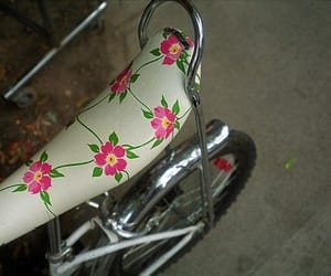 bycicle, vintage, and cute image