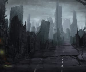 anime, articles, and city image