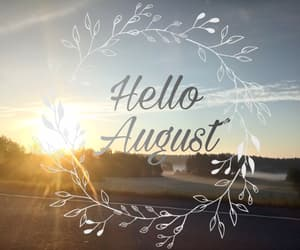 August, autumn, and summer image