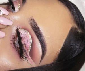 inspo, makeup, and pink image