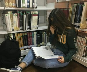 book, girl, and alternative image