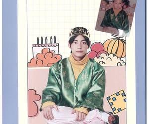 bts, taehyung, and jin image