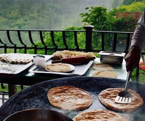 after rain, pakistan, and cooking image