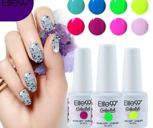 nail polish, uv gel polish, and nail colour image