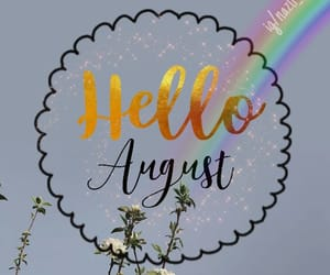 August, flower, and flowers image
