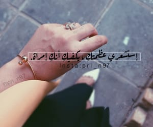 girl, hand, and انثى image