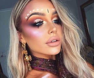 beauty, coachella, and party girl image