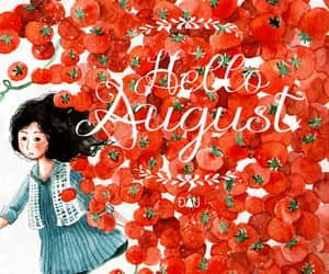 art, August, and hello august image