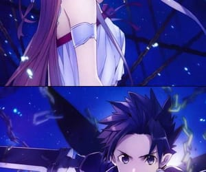 anime, love, and SAO image