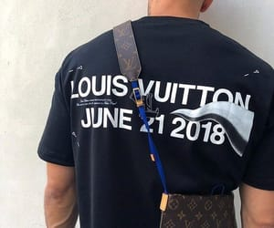 Louis Vuitton, hype beast, and guy sexy handsome image
