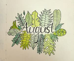 August, autumn, and black image