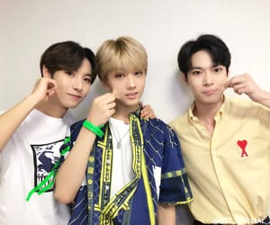 doyoung, nct, and jisung image