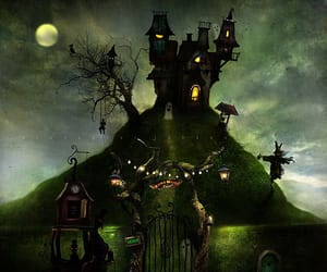 drawing, whimsical, and alexander jansson image