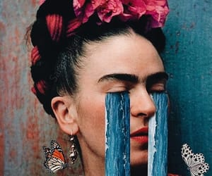 flowers and Frida image