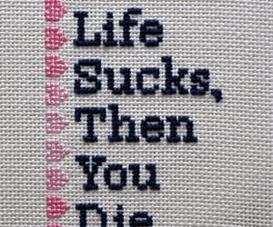 life, quotes, and die image