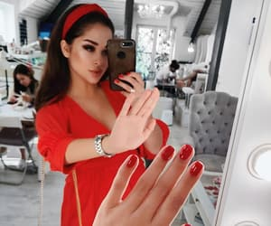 girls, nails, and luxury image