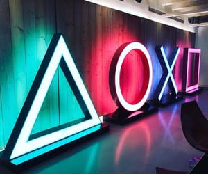 neon, decor, and gamer image