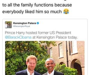 barack obama, funny, and twitter image