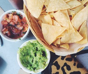 chips, food, and salsa image