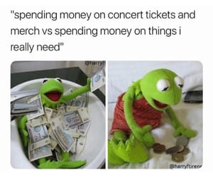 concert, concert tickets, and funny image