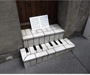 piano, music, and art image